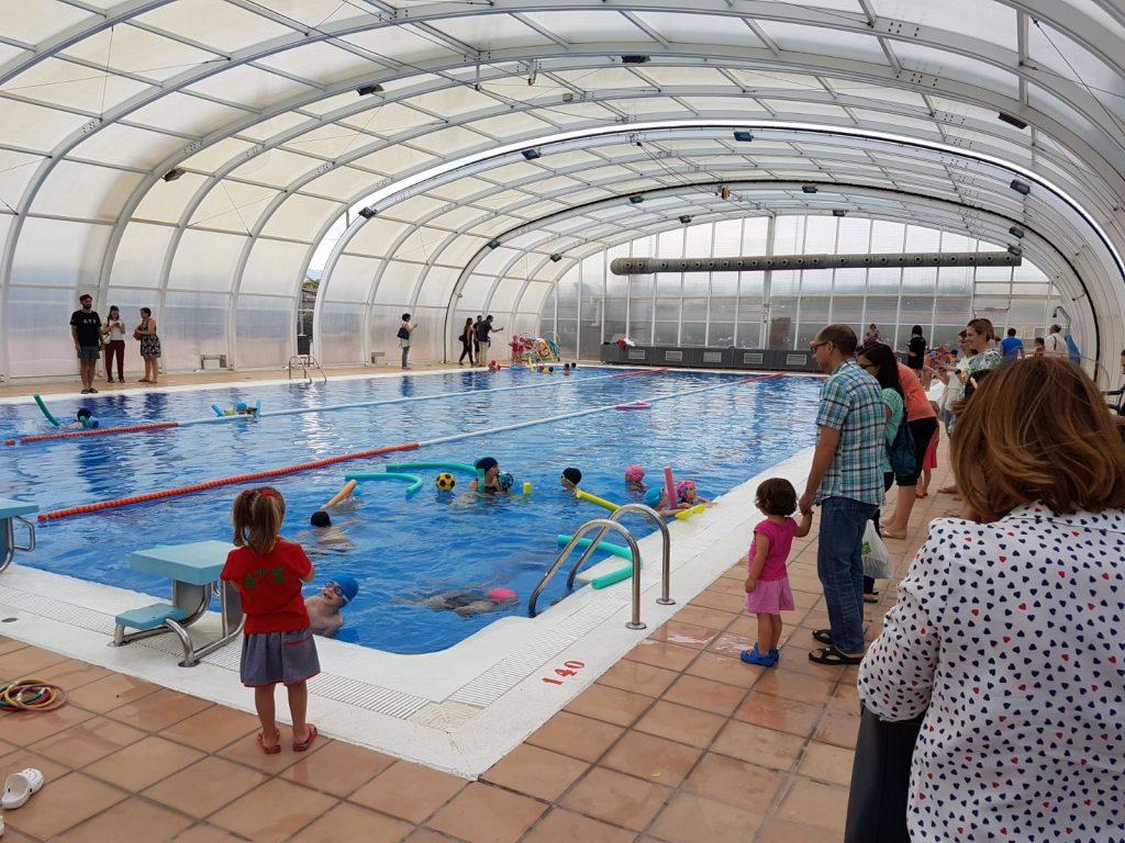Jornada de puertas abiertas piscina extraescolar for Piscina alcantarilla